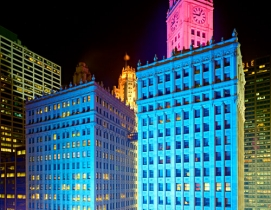 One notable newly certified LEED project in 2011 included the Wrigley Building i