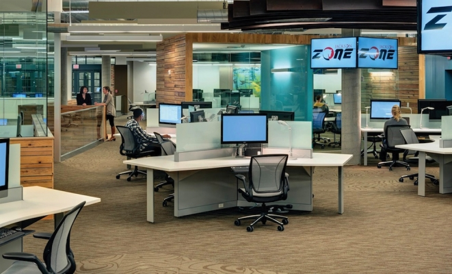 Good Design Can Combat Open Office Issues Building