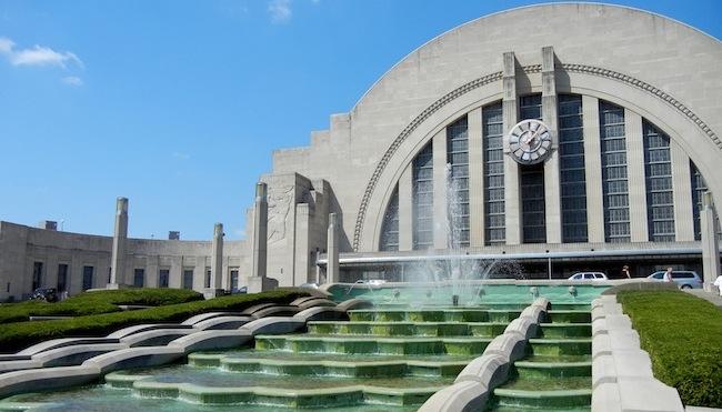 Union Terminal, Cincinnati. Photo: Dacoslett via Wikimedia Commons